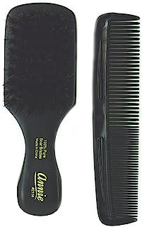 Annie mini pocket small manclub combo brush #2114 - SOFT-, soft bristles, natural bristles, boar bristles, hair comb, hair...