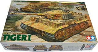 Tamiya Models 1/35 German Tiger I Late Version w/Ace Commander and Crew