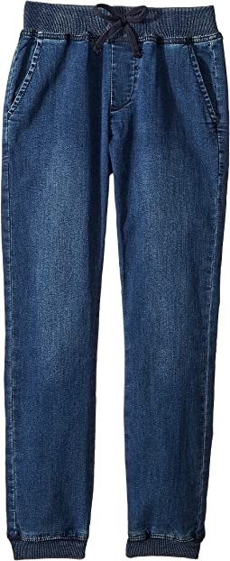 AG Adriano Goldschmied Kids Luke Indigo Yarn Jogger (Big Kids)