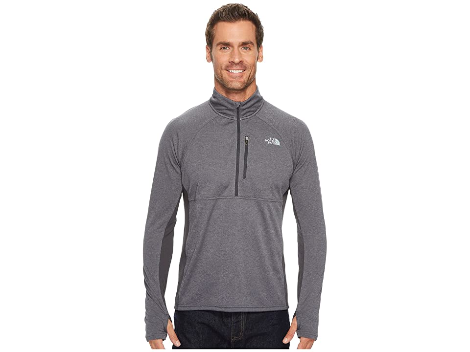 The North Face Impulse Active 1/4 Zip (TNF Medium Grey Heather/Asphalt Grey) Men