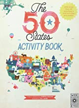 The 50 States: Activity Book - Custom: Maps of the 50 States of the USA