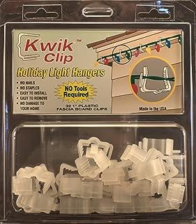 Kwik Clip Holiday Christmas Light Hangers 1