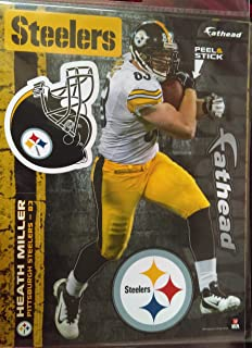e5a05d8c7cc 2013 Heath Miller Pittsburgh Steelers Fathead ...