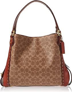 Coach Shoulder Bag for Women- Brown