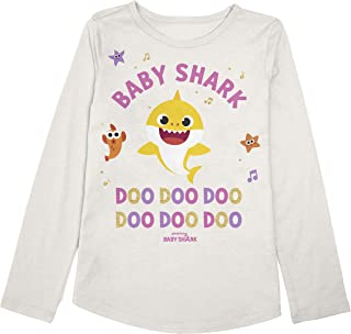 Jumping Beans Toddler Girls 2T-5T Baby Shark Graphic Tee