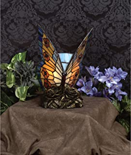 Quoizel TF6599R Tiffany Butterfly Lamp, 1-Light, 7 Watt, Architectural Bronze (9