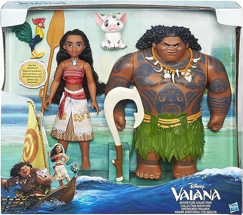 Disney Vaiana - C0156 - Vaiana Adventure Figure Multipack