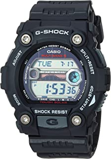 Men's G-Shock Quartz Watch with Resin Strap, Black, 30 (Model: GW7900-1)