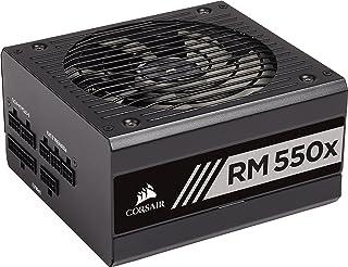 Corsair Rmx Series rm550x Black 550W ATX Power PSU (Power Supply 550W; 100–240UNIT 47–63, 10A -5a, 130W, 549,6W...