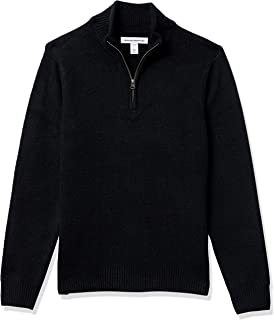 Men's Long-Sleeve Soft Touch Quarter-Zip Sweater