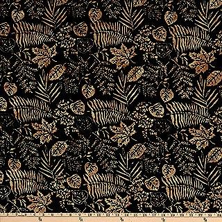 Island Batik Rayon Fern Canyon Green Fabric by The Yard
