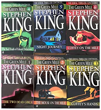 The Green Mile Serial Novel Set Books 1-6