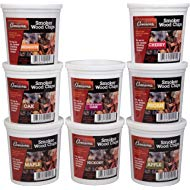 Camerons Wood Smoking Chips... Camerons Wood Smoking Chips Variety Gift Set - Set of 8 Pints of Extra Fine Cut Sawdust Smoker...