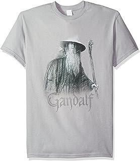Trevco Hombres de El Señor de los anillos Gandalf el gris camiseta