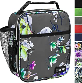 OPUX Premium Insulated Lunch Box | Soft Leakproof School Lunch Bag for Girls | Durable..