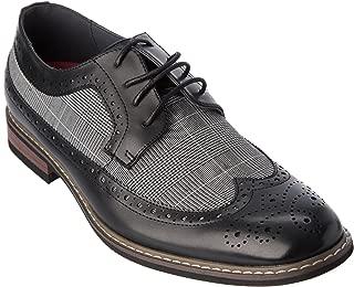 titan01 Mens Lace-Up Oxford Dress-Shoes