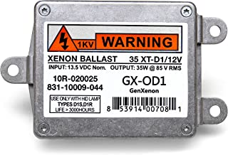 Replacement 831-10009-044 Xenon HID Ballast for Lincoln Town Car, Navigator, Chrysler 300M Headlight Control Unit Replaces 10R-020025, 35 XT-D1/12V, 6L7Y-13C170-A