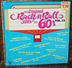 THE ORIGINAL ROCK N ROLL HITS OF THE 60'S VOL. 15