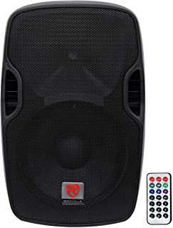 """Best Rockville BPA12 12"""" Professional Powered Active 600w DJ PA Speaker w Bluetooth Review"""