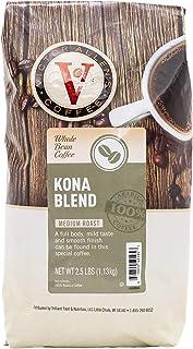 Kona Blend Whole Bean Medium Roast Coffee by Victor Allen's, 2.5 lb bag