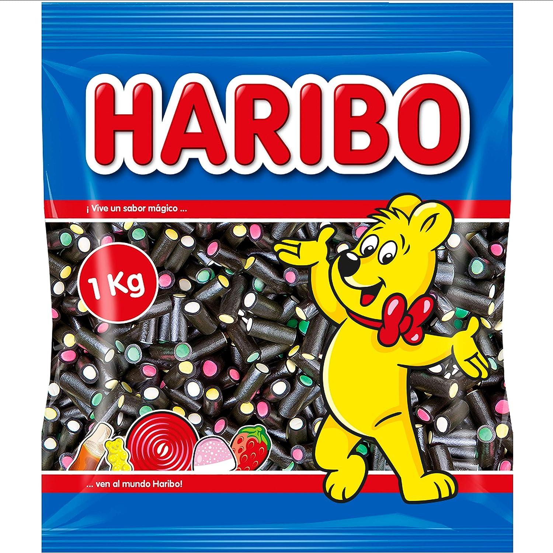 HARIBO Balla-Balla Negros, 1000 Gramos
