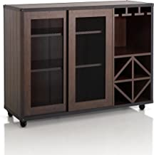 HOMES: Inside + Out HFW-15700C6 Dining Buffet Server, Brown