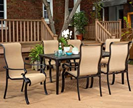 Campbell 7 Piece Sling Dining Set
