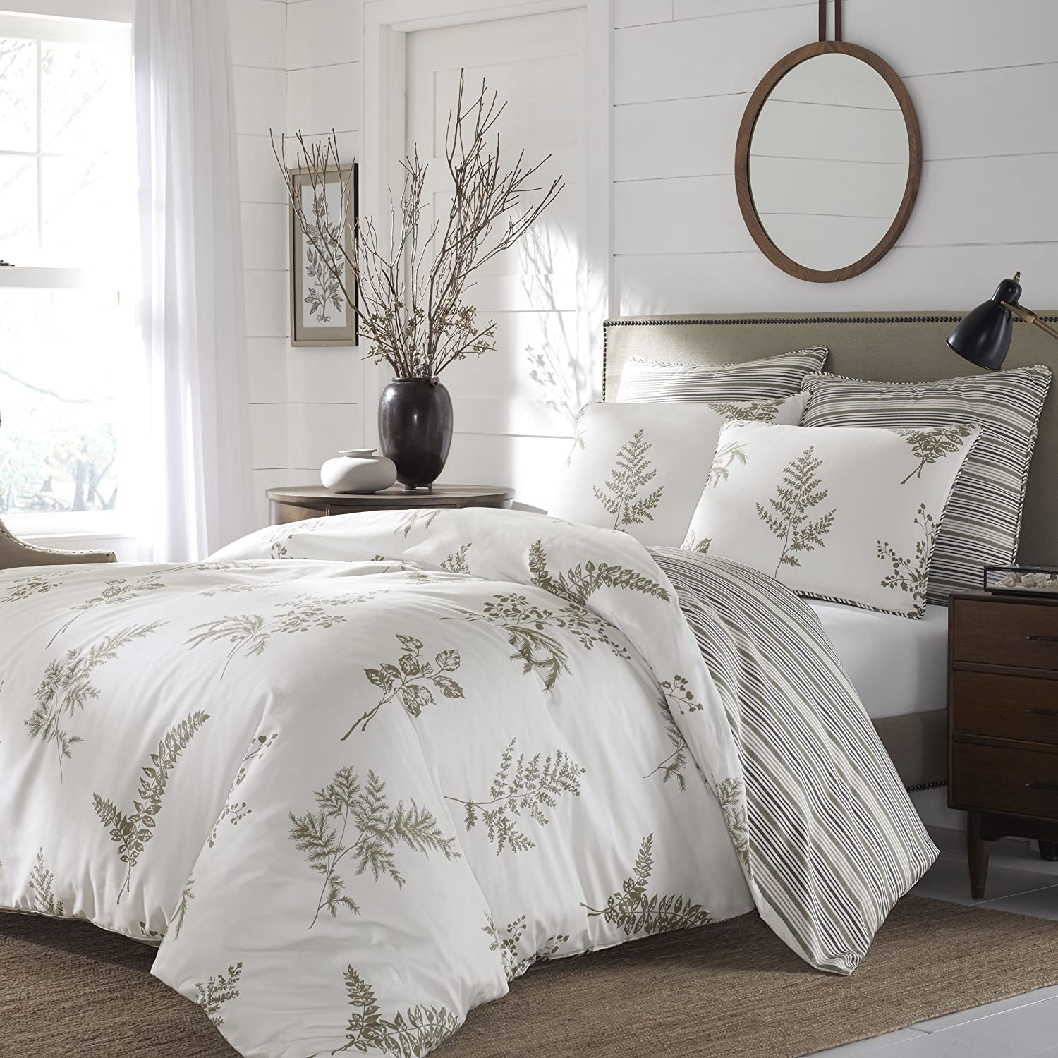 Stone All stores are sold Cottage Willow Comforter Beige Tan Set King NEW before selling