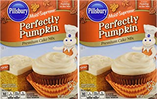 Pillsbury Moist Supreme Perfectly Pumpkin Cake Mix, 15.25 Oz. (3 Pack)