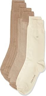 Calvin Klein cotton blend 3 pck reinforced heel and toe