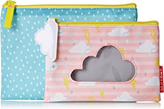 SkipHop Girls' Forget-Me-Not Kid Pencil Cases 2 Piece Pouches