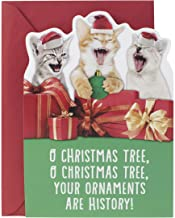 Hallmark Christmas Card with Sound (Cats Laughing,