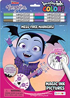 Bendon 45285 Vamperina Imagine Ink Color Pad, Includes 6 Markers