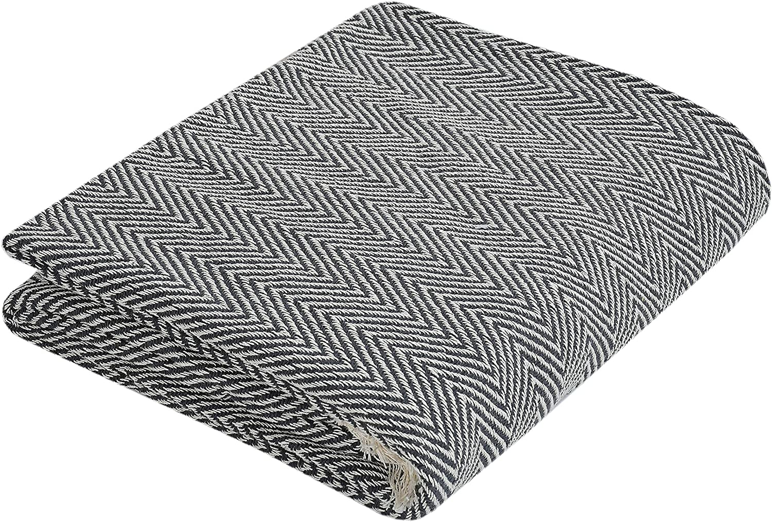 CasaTouch 100% Cotton Ranking TOP13 Blanket Throw Warm Breathable Soft All Translated Se