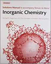 Solutions Manual To Accompany Shriver And Atkins' Inorganic Chemistry