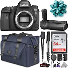 Canon EOS 6D Mark II DSLR Camera Body w/BG-E21 Battery Grip & Complete Photo and Travel Bundle