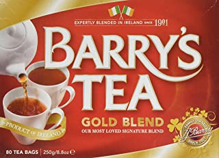 Barry's Tea Gold Blend Bags, 80 Count