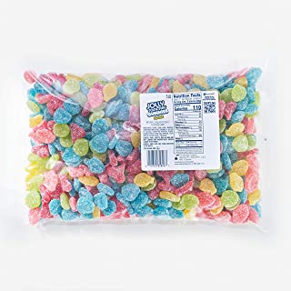 Jolly Rancher Gummies Sours Fruit Flavor Bulk Candy, 5 Lb