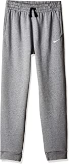 Nike Boy's Pant N45 Core BF JGGR, Green(Dk Grey Heather/White063), Large