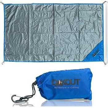 Ripstop Aluminium Camping Groundsheet Footprint for Exped /& Neoair Backpacking