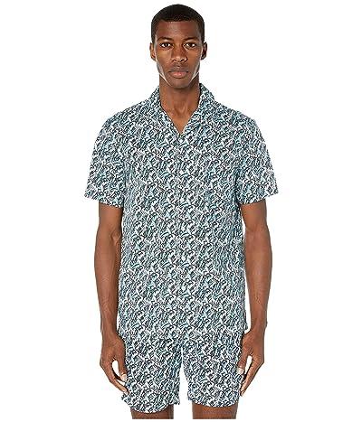 onia Vacation Shirt (Retro Blue) Men