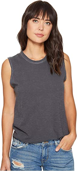 Alternative Inside Out Slub Sleeveless T-Shirt