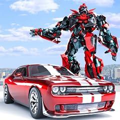 Camaro driving muscle car simulator Robot Transforming Simulator best robot games or future robot boxing. Real Robot Wars With Transformation