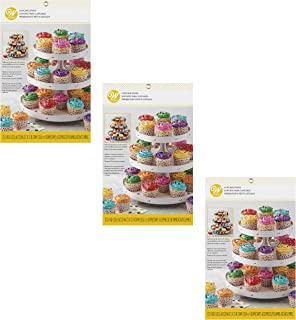 Wilton 3-Tier Cupcake Stand - Customizable, Set of 3