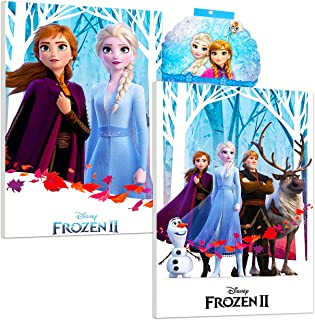 Disney Frozen Poster Print Wall Art Bundle ~ 2 Pack Frozen 2 Mounted Print Posters for Kids Adults with over 300 Frozen St...