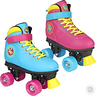 Pop Squad Malibu Boy's and Girl's Roller Skates – Beach Blue