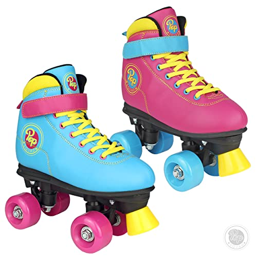 Pop Squad Malibu Boys and Girls Roller Skates – Beach Blue