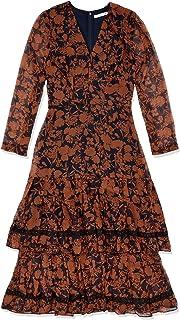 Cooper St Women's Chelsea Long Sleeve Tiered MIDI Dress