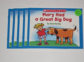 Leveled Guided Reading Set - Mary Had a Great Big Dog by Maria Fleming (5 copies)
