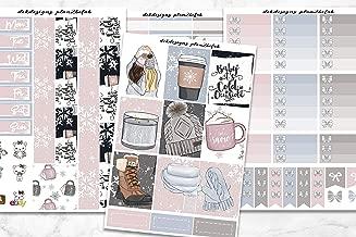 Life Planner Sticker Kit 'Winter Essentials' over 250 stickers on premium matte